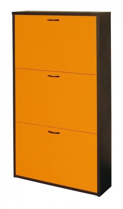 Scarpiera di design arancio