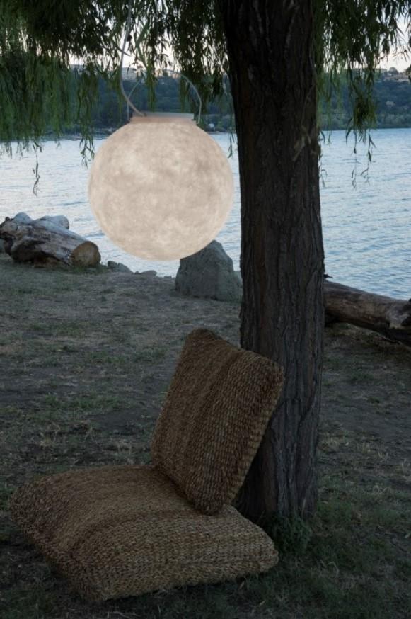 Lampada a sospensione Luna 2 Out