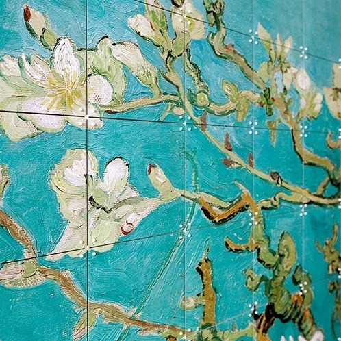 Poster Mandorlo fiorito