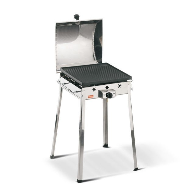 Barbecue a gas in ghisa Mono Gas Inox